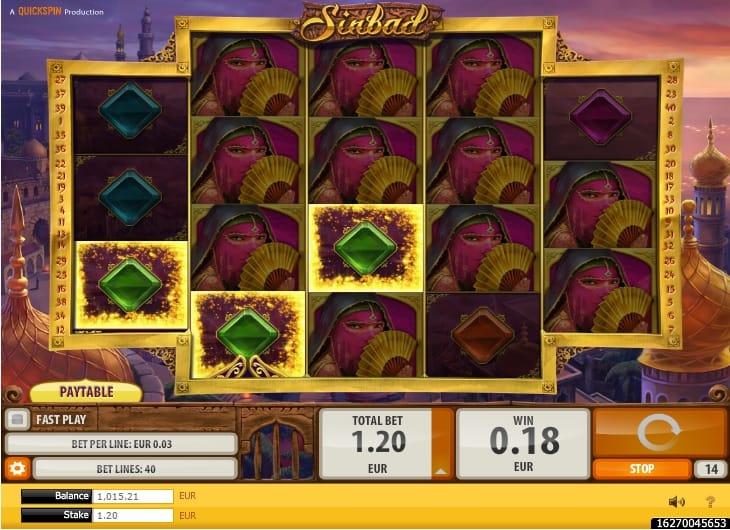 sinbad casino igra